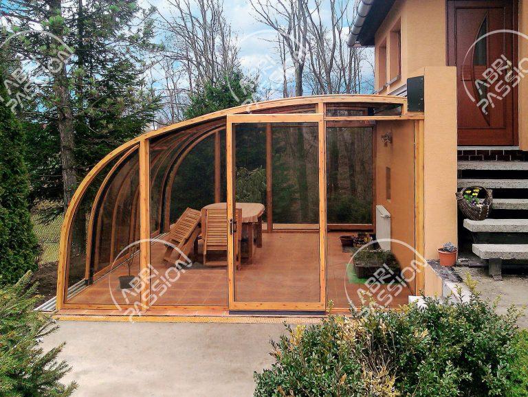 abri de terrasse rétractable modèle Entry