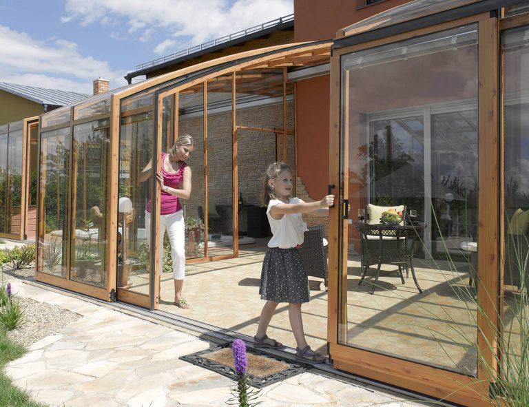 abri de terrasse rétractable modèle First